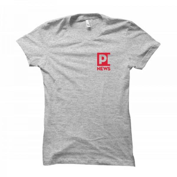 Damenshirt: PI-News (Brustdruck)