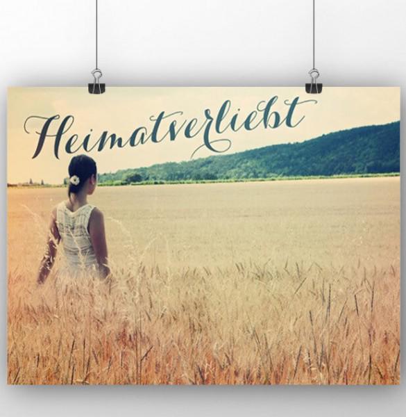 Poster: Heimatverliebt