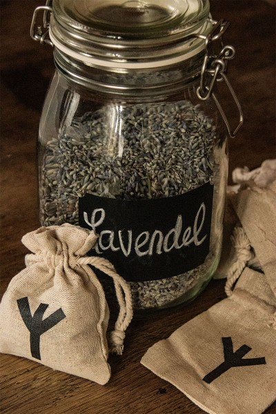 Lavendelbeutel Algiz