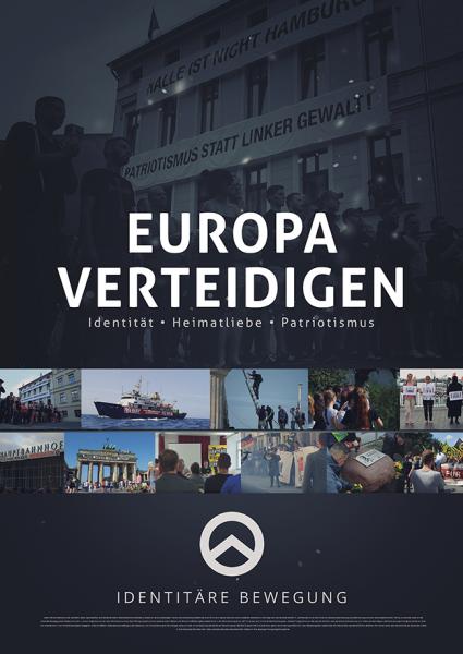 """Poster """"Europa verteidigen"""""""