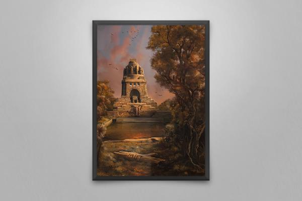 Poster: Völkerschlachtdenkmal