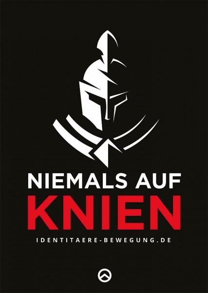 Plakat: Niemals auf Knien (10 Stück)