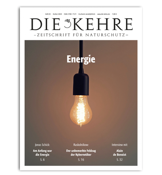 Die Kehre - Herbst 2020 (Heft 03)