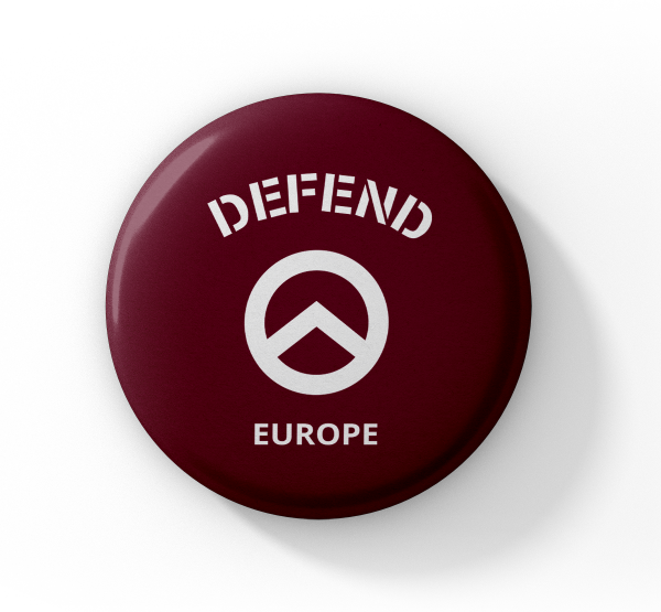 "Button ""Defend-Europe"""