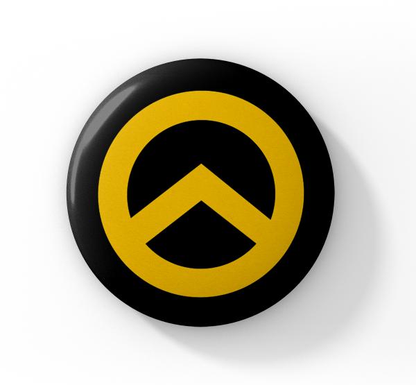 Button Lambda (gelb)