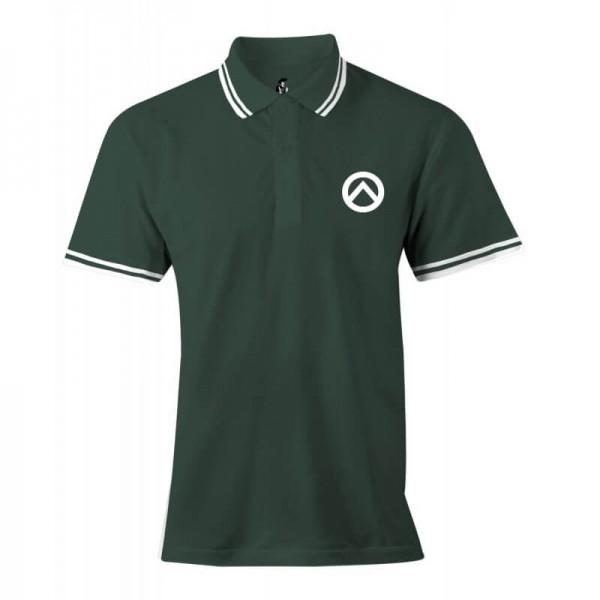 Damenpoloshirt: grün