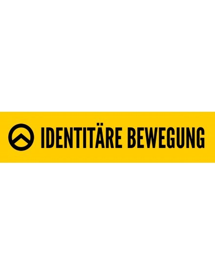 "Aufkleber ""Identitäre Bewegung"" (100 Stk.)"