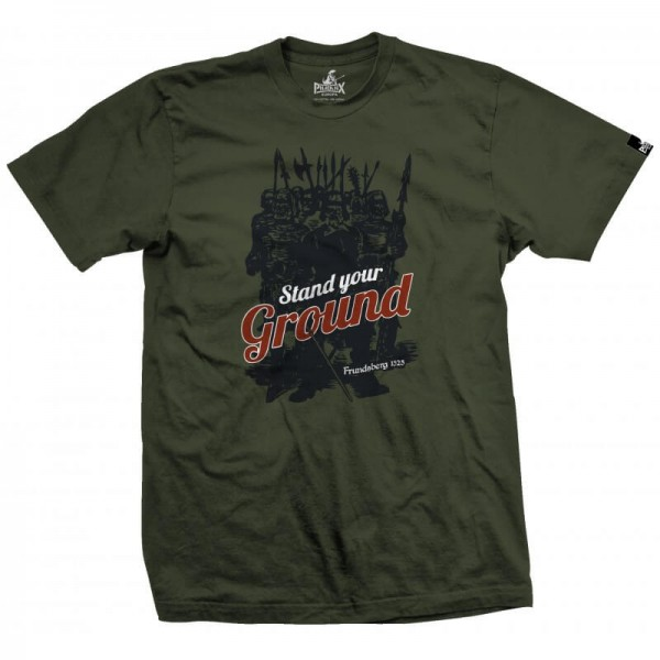 Herrenshirt: Stand your Ground