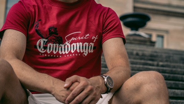 Herrenshirt: Spirit of Covadonga