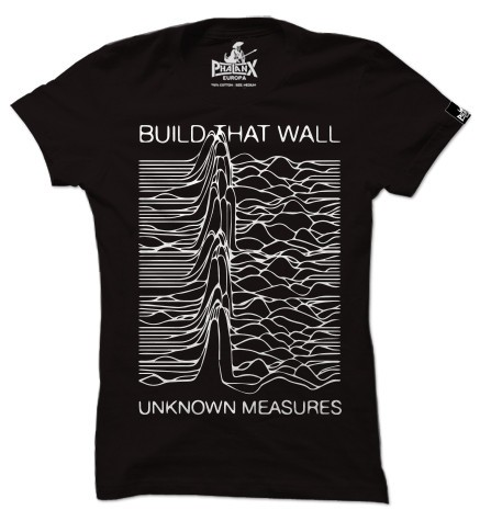 Damenshirt: Build that wall