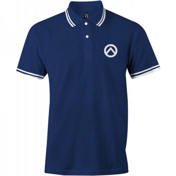 Poloshirt: Lambda-navy