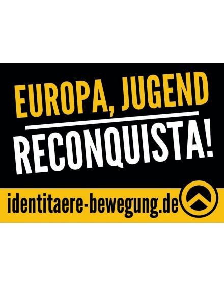 Aufkleber - Europa, Jugend, Reconquista (100 Stk.)