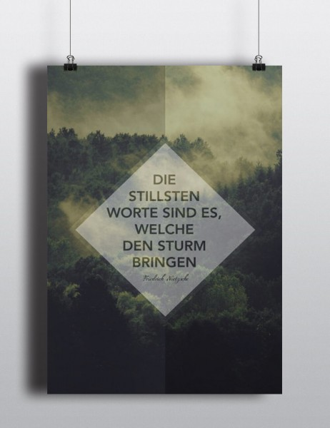 Poster: Stille Worte