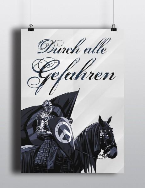 Poster: Durch alle Gefahren