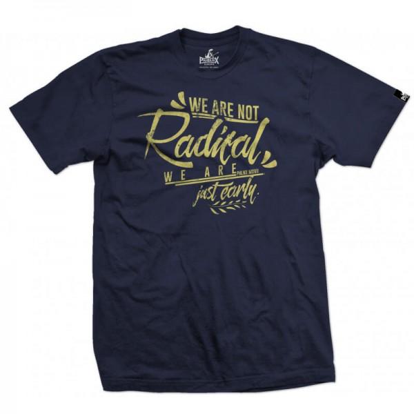 Herrenshirt: We are not radical