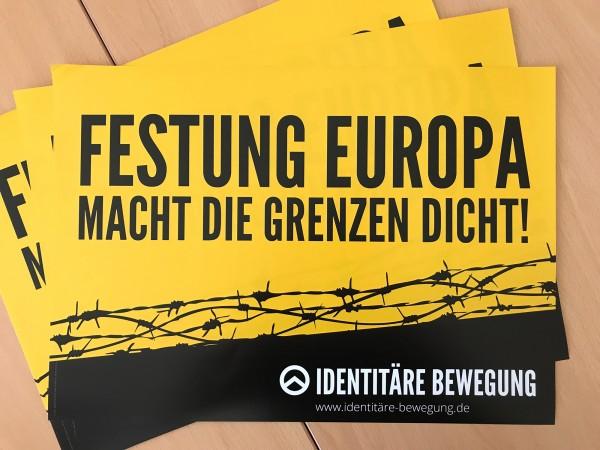 Plakat - Festung Europa 10 Stk.