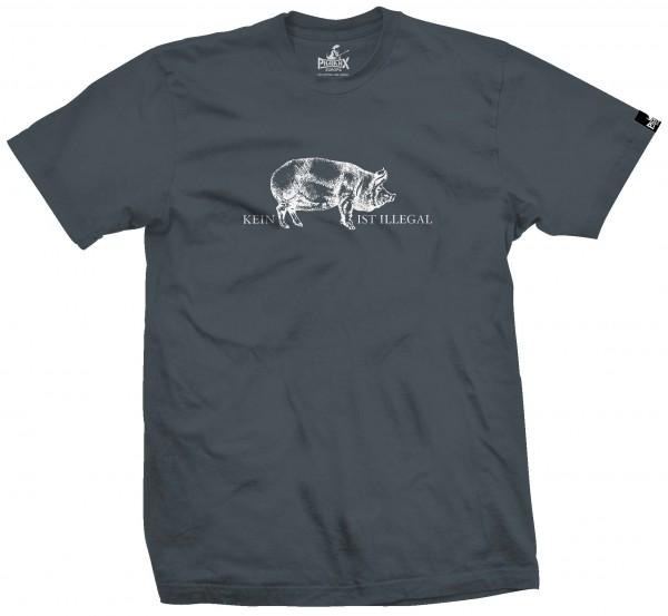Herrenshirt: Kein Schwein