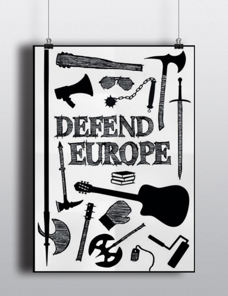 Poster: Defend Europe