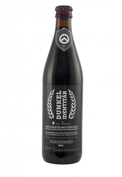 Dunkel Identitär Bier (18er 0,5l)