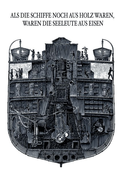 Poster Als die Schiffe
