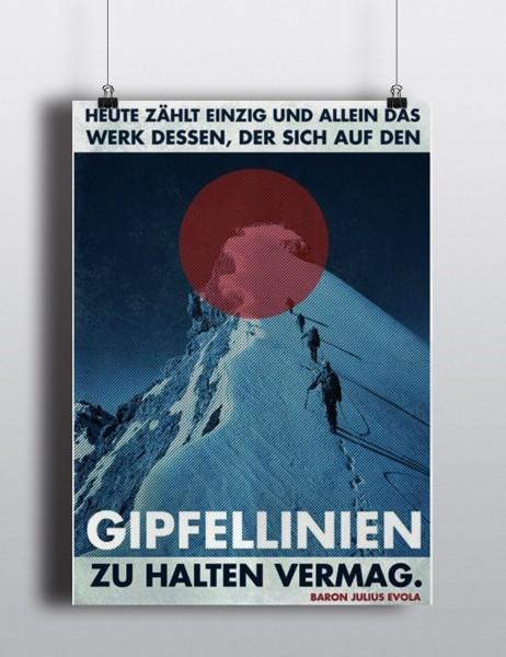 Poster: Gipfellinien