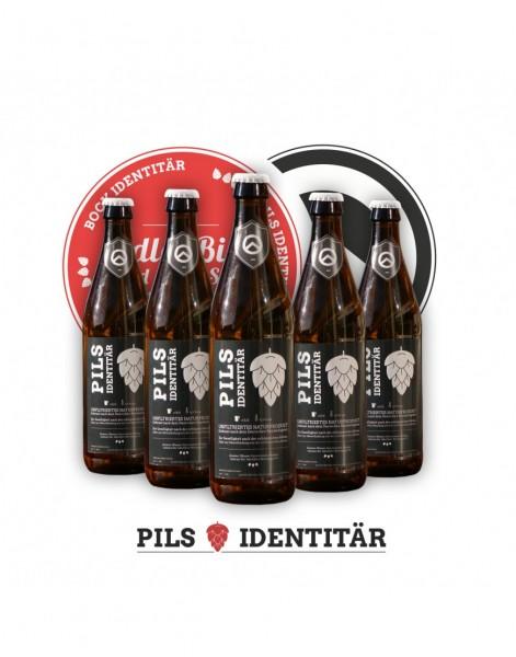 Pils Identitär Bier (18er 0,5l)