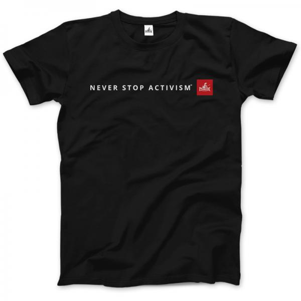 Herrenshirt: Never stop activism