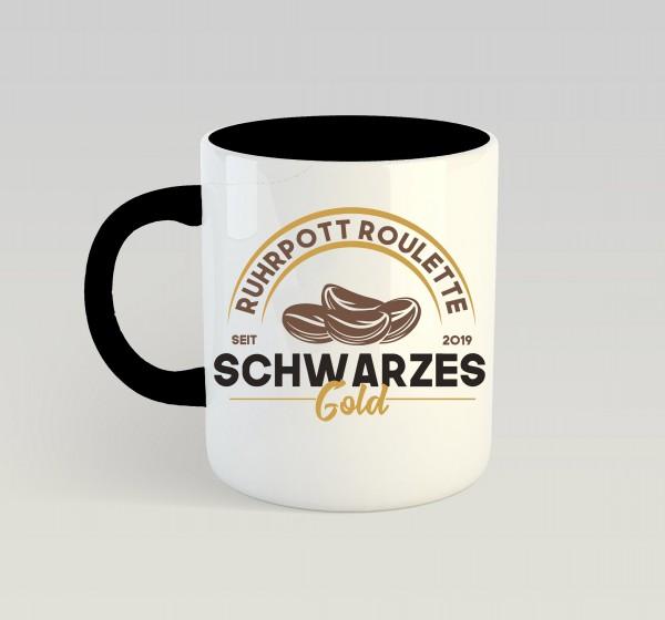 Tasse: Schwarzes Gold