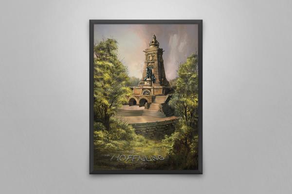 Wandbild Kyffhäuserdenkmal
