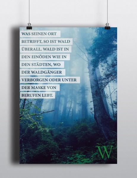 Poster: Waldgang