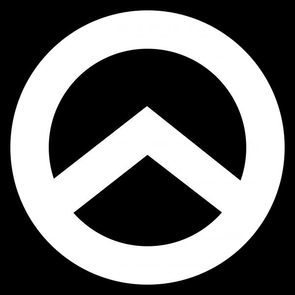 Aufkleber-Lambda Mini (weiß)