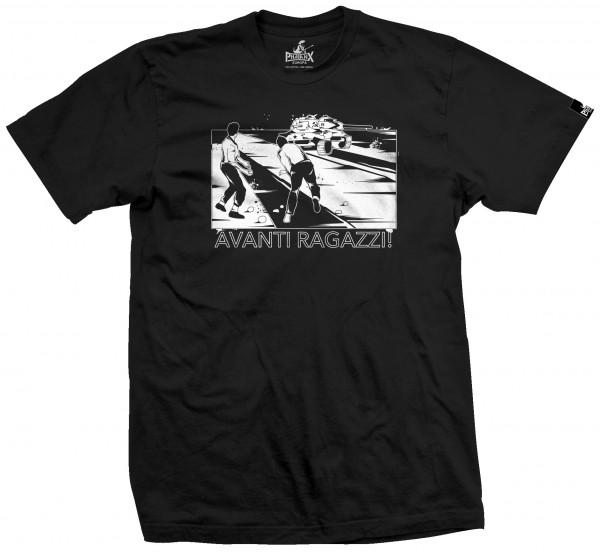 Herrenshirt: Avanti Ragazzi