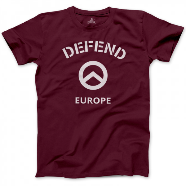 Herrenshirt: Defend Europe