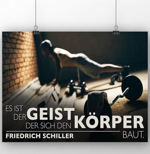 Poster: Körper & Geist