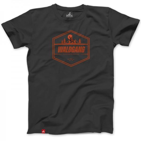 Herrenshirt: Waldgang