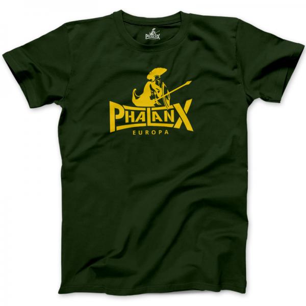 Herrenshirt: Phalanx Dunkelgrün