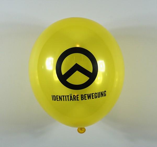 "Luftballons ""Identitäre Bewegung"""