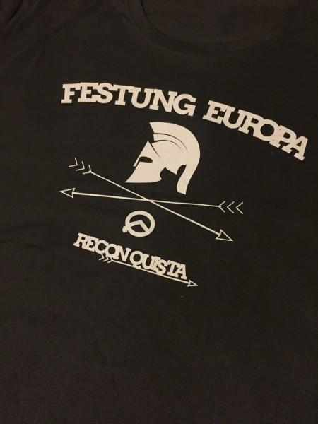 Herrenshirt: Festung Europa (kleiner Druckfehler!)