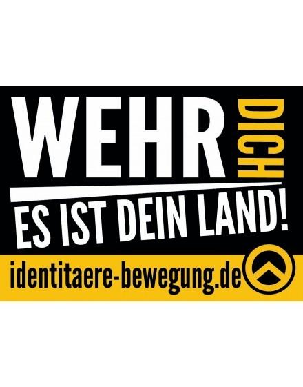 Aufkleber - Wehr dich (50 Stk.)