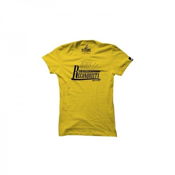 Damenshirt: Reconquista gelb