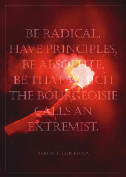 Poster: Be Radical