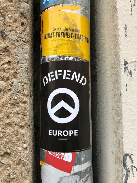 "Aufkleber ""Defend-Europe"" (100 Stk.)"