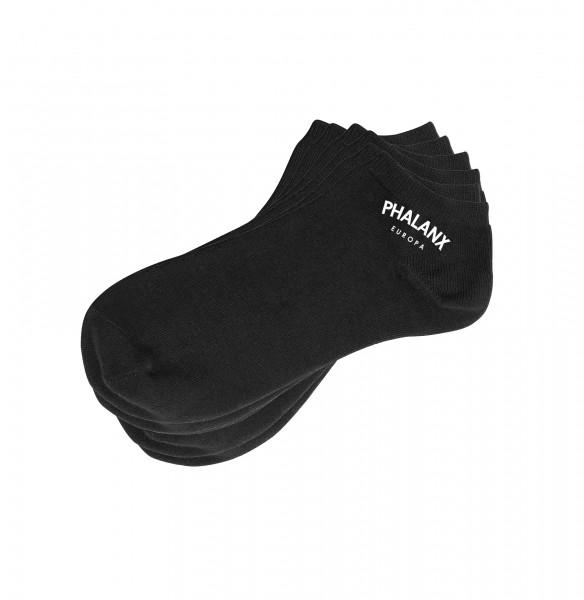 Socken mit Phalanx Schriftzug (3er Pack)